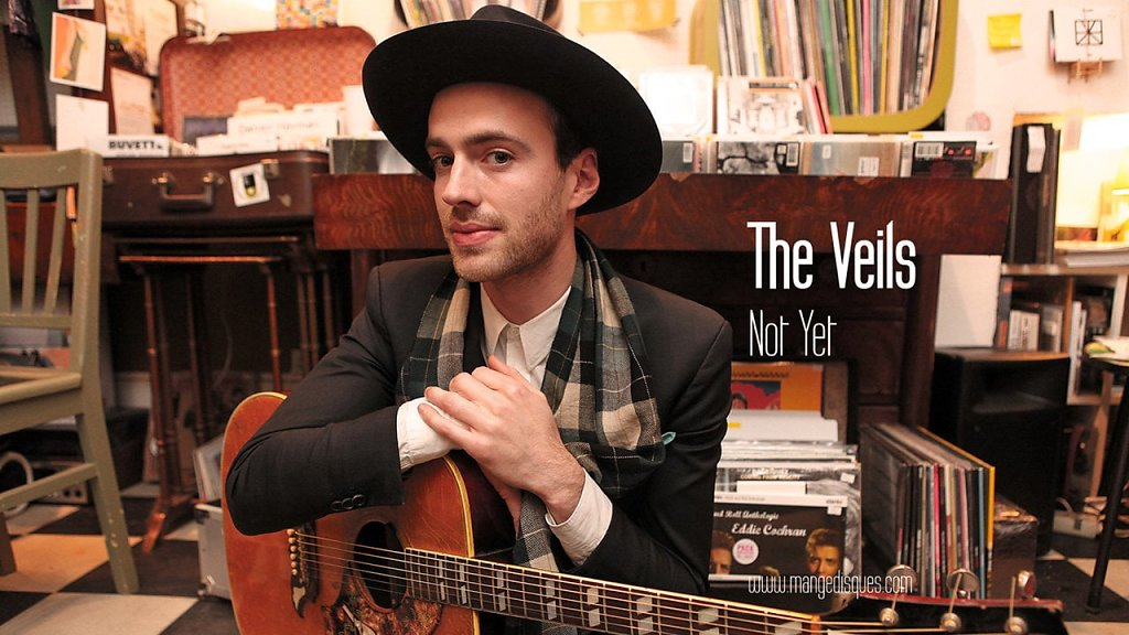 """The Veils """"Not Yet"""" en acoustique sur Mange Disques"""